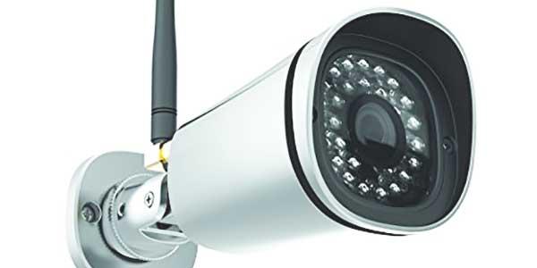 Alarmsysteem: dome of bullet camera