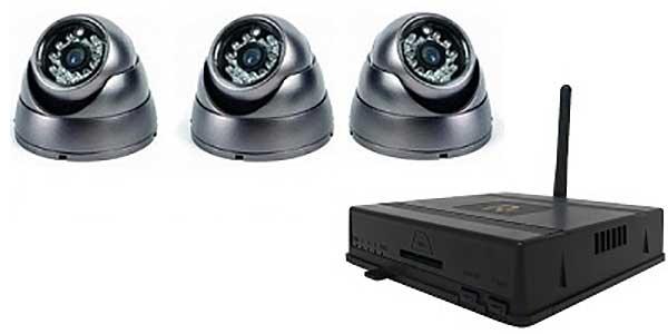 Alarmsysteem: draadloze camera's