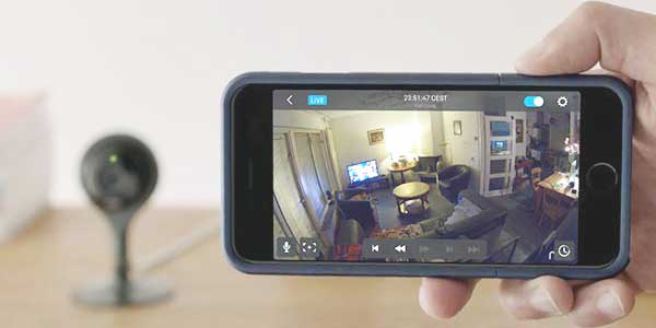 Alarmsysteem: IP camera