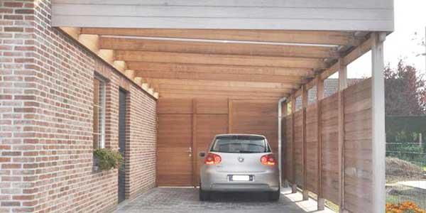 Aanbouw carport