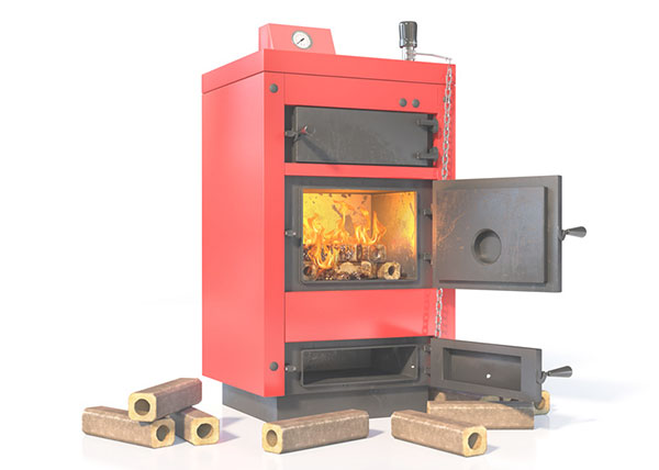 Centrale verwarming met biomassa