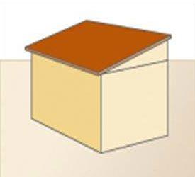 Plat dak - voorbeeld van deze dakvorm
