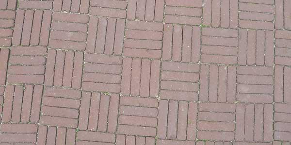Klinkers leggen in blokverband