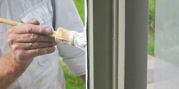 Ramen en deuren schilderen