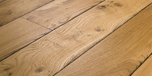 eiken plankenvloer