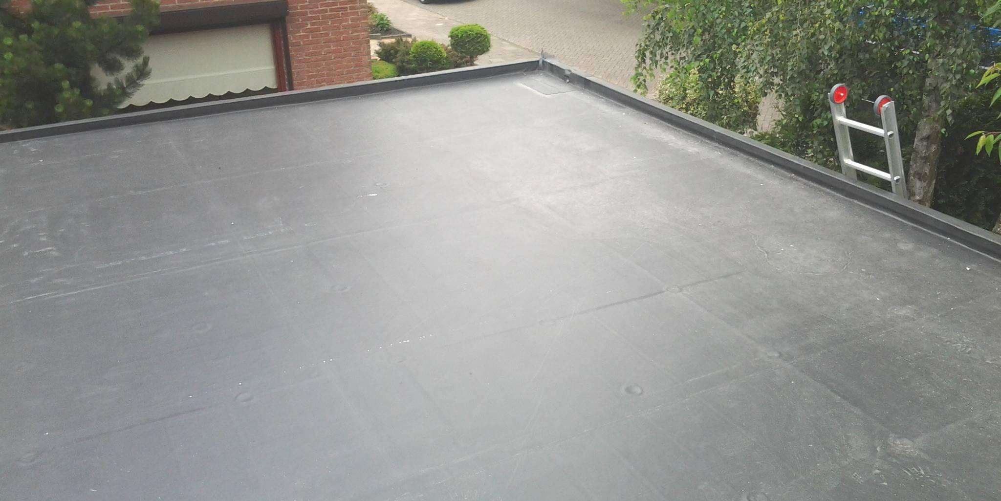dakbedekking plat dak renoveren