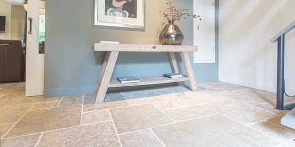 Kalksteen tegels