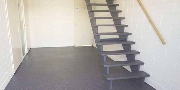 Trappen: voorbeeld van een open trap