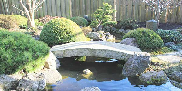 Japanse tuin stijl