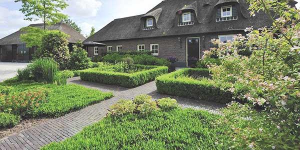 Klassieke tuin stijl