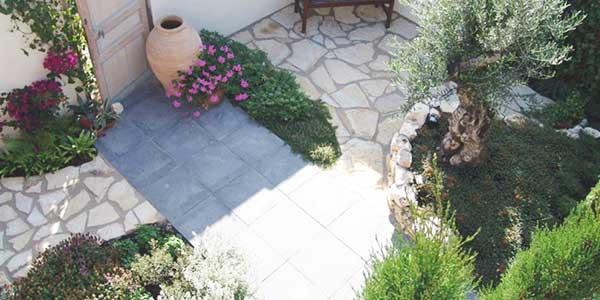 Mediterrane tuin stijl