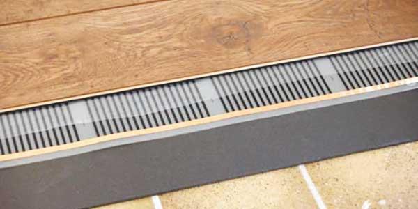 Vloerverwarming - elektrisch systeem