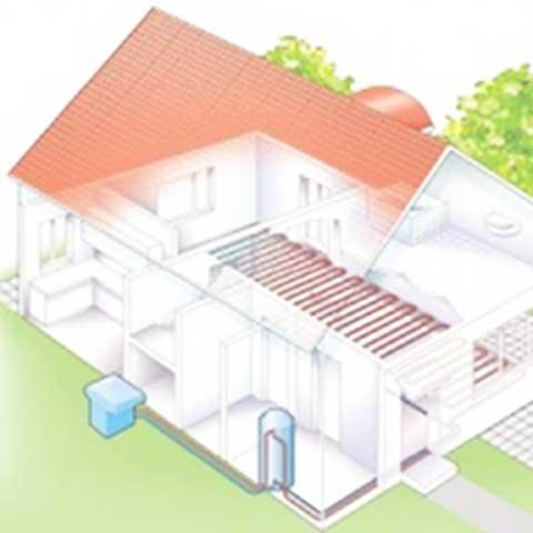 Warmtepomp - lucht installatie